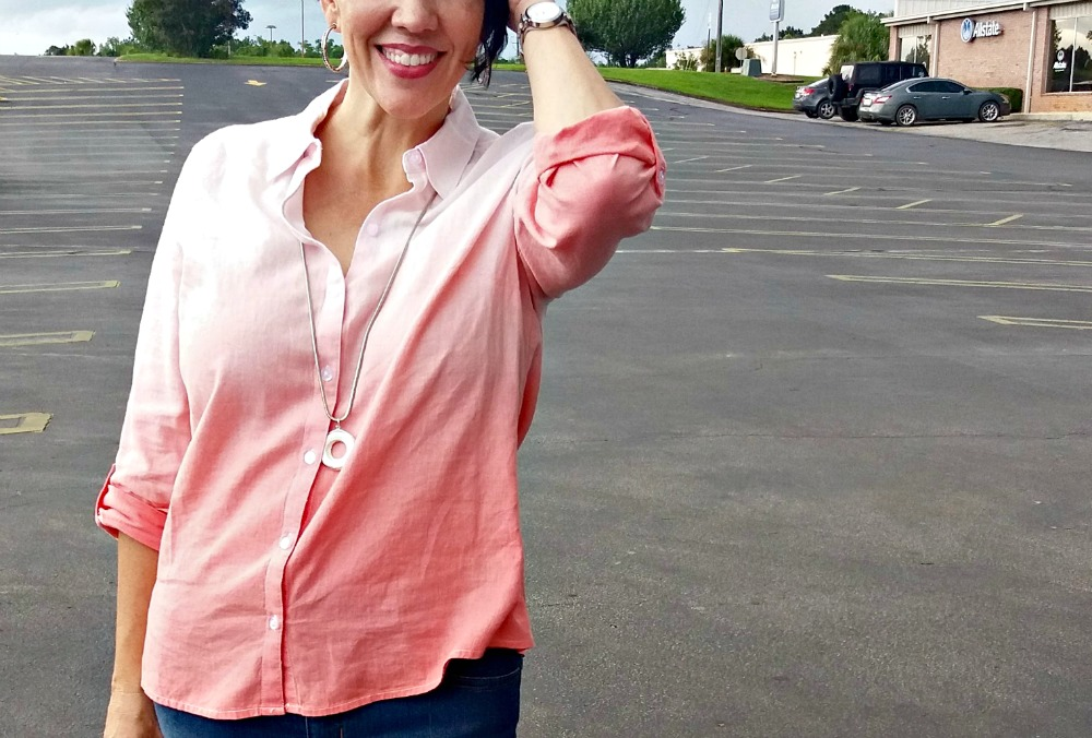 Linen Button-Down Shirt - What I Really Wore | The FABulous Journey