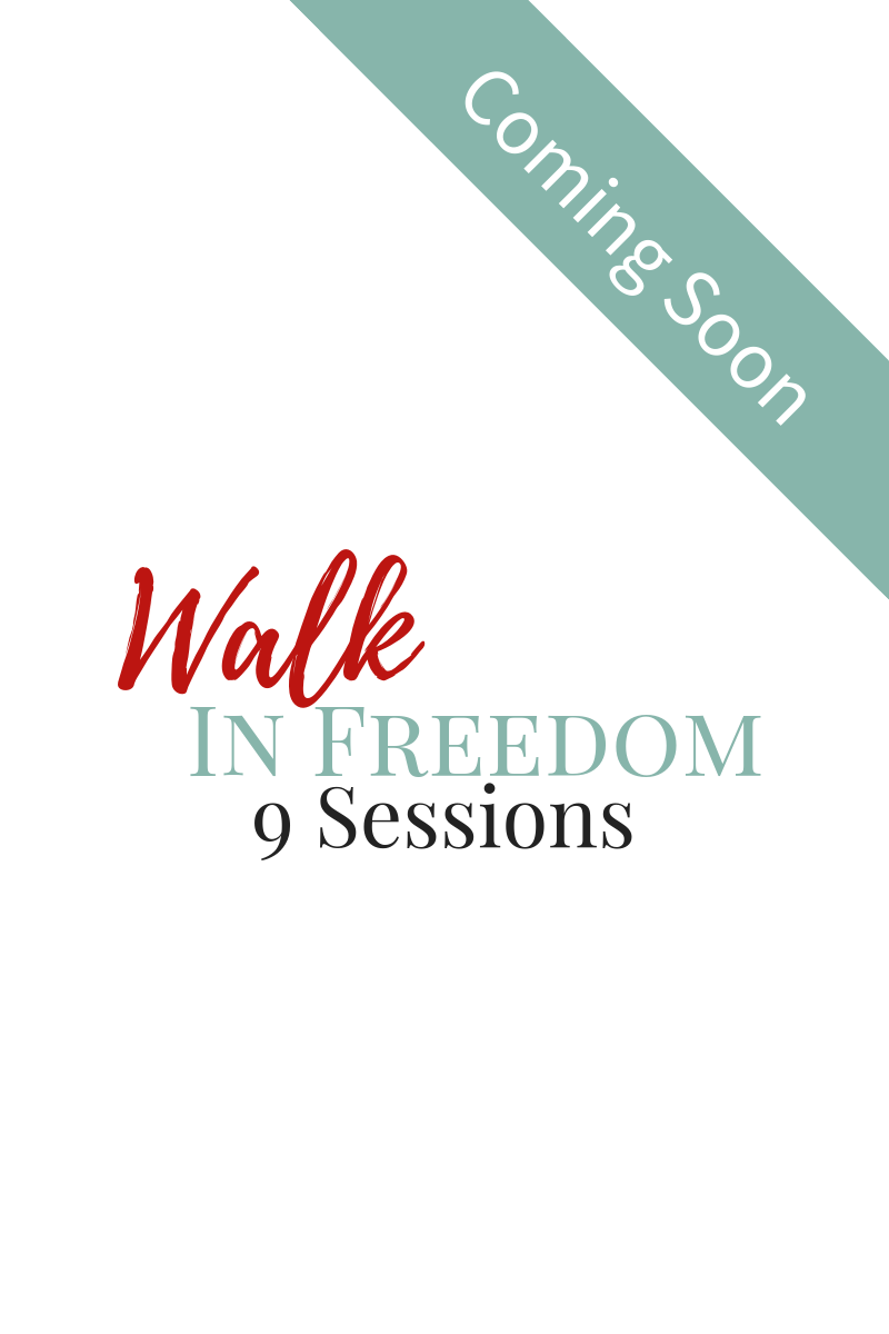 Walk In Freedom Bible Study