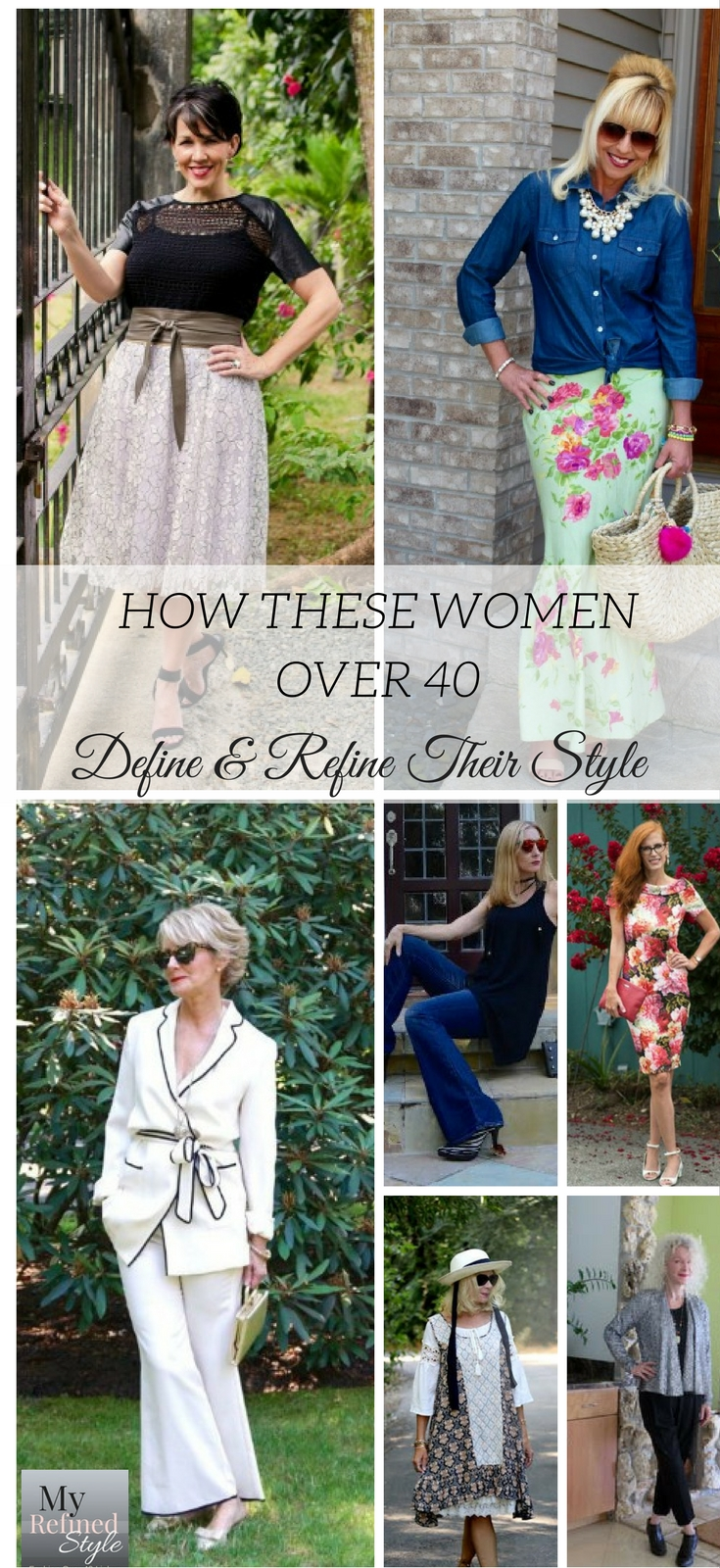 How these women over 40 define and refine their own personal style, my refined style, fashion over 40